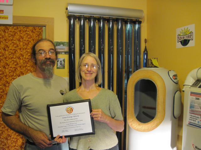 New Hampshire: Green Energy Options Receives the Keene Environmental ...