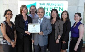 San Francisco Environmental Hall of Fame Awards Ceremony